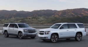 2020 Chevrolet Suburban and Tahoe