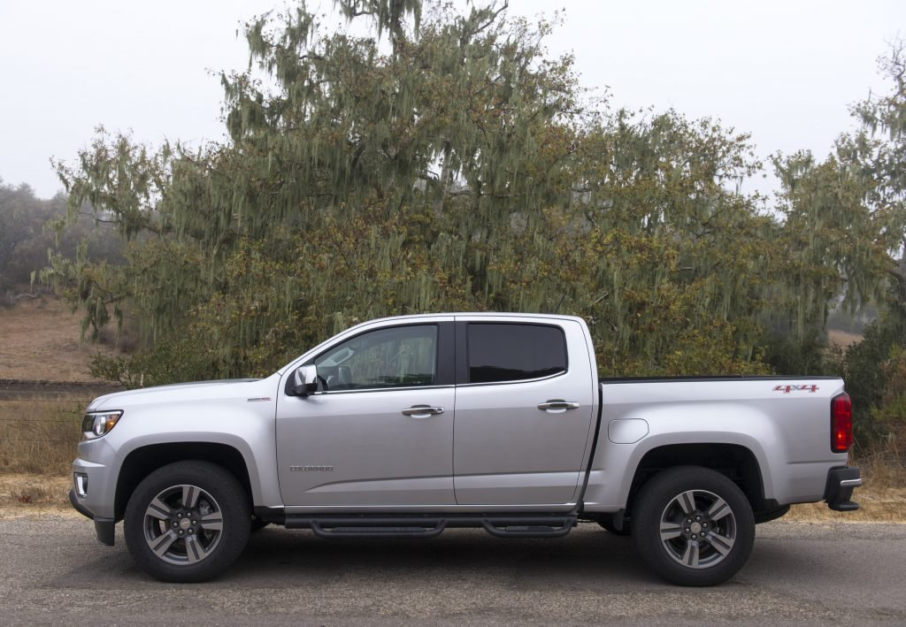new look for 2021 chevrolet colorado pickup